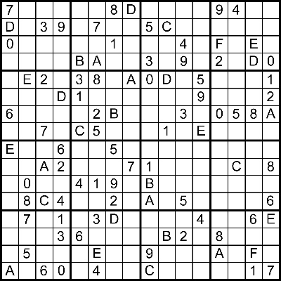 picture relating to 16 Square Sudoku Printable identified as 3d Sudoku Solver